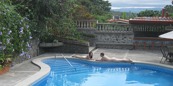 Boutique Hotel Costa Rica Clothing Optional Pool